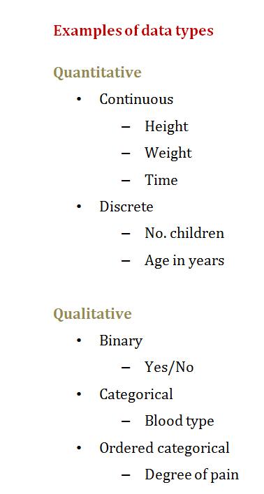 Course Quantitative Methods Topic What Is Quantitative Data